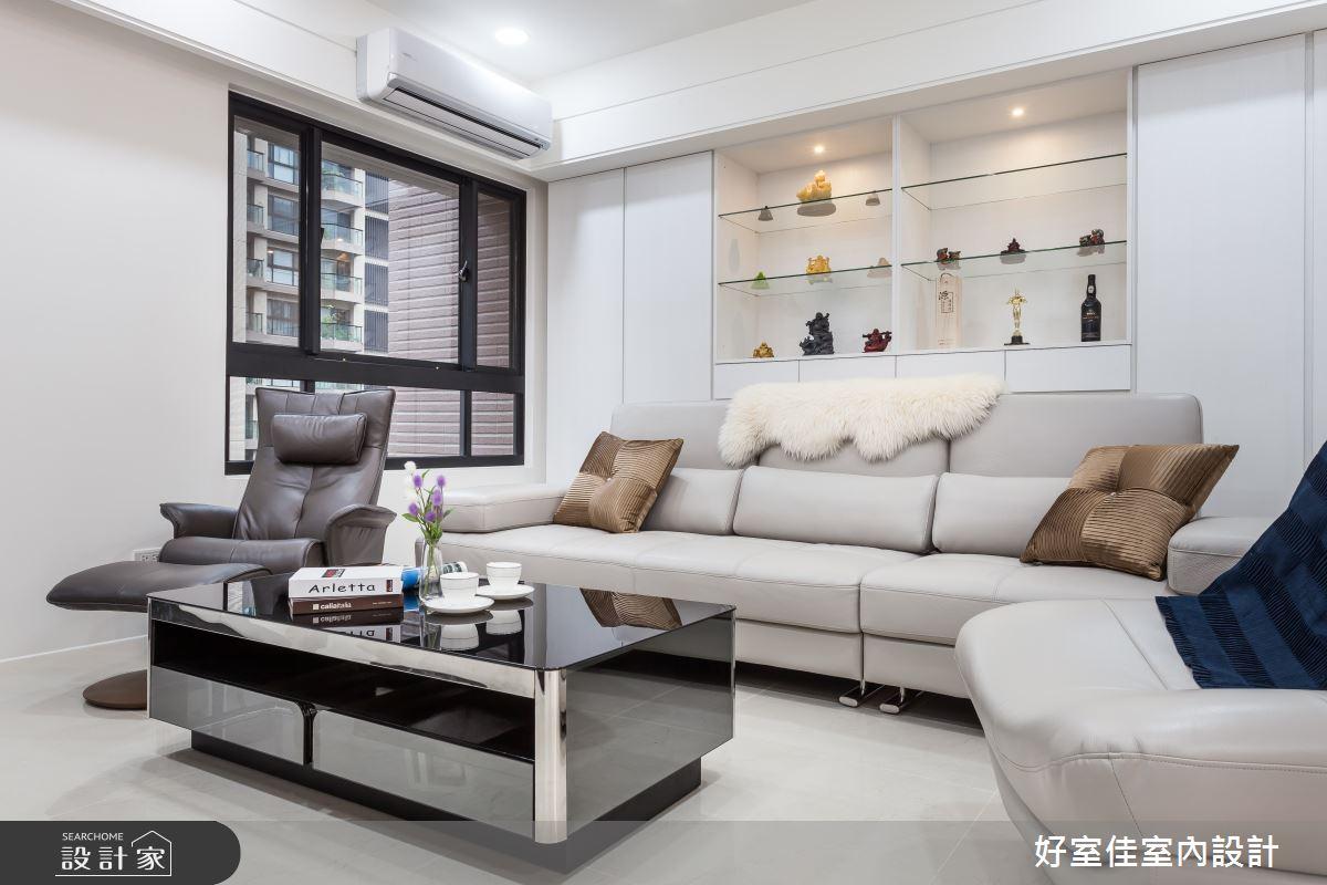 45坪新成屋(5年以下)_現代風客廳案例圖片_好室佳室內設計_好室佳_久看不膩的品味居家之3