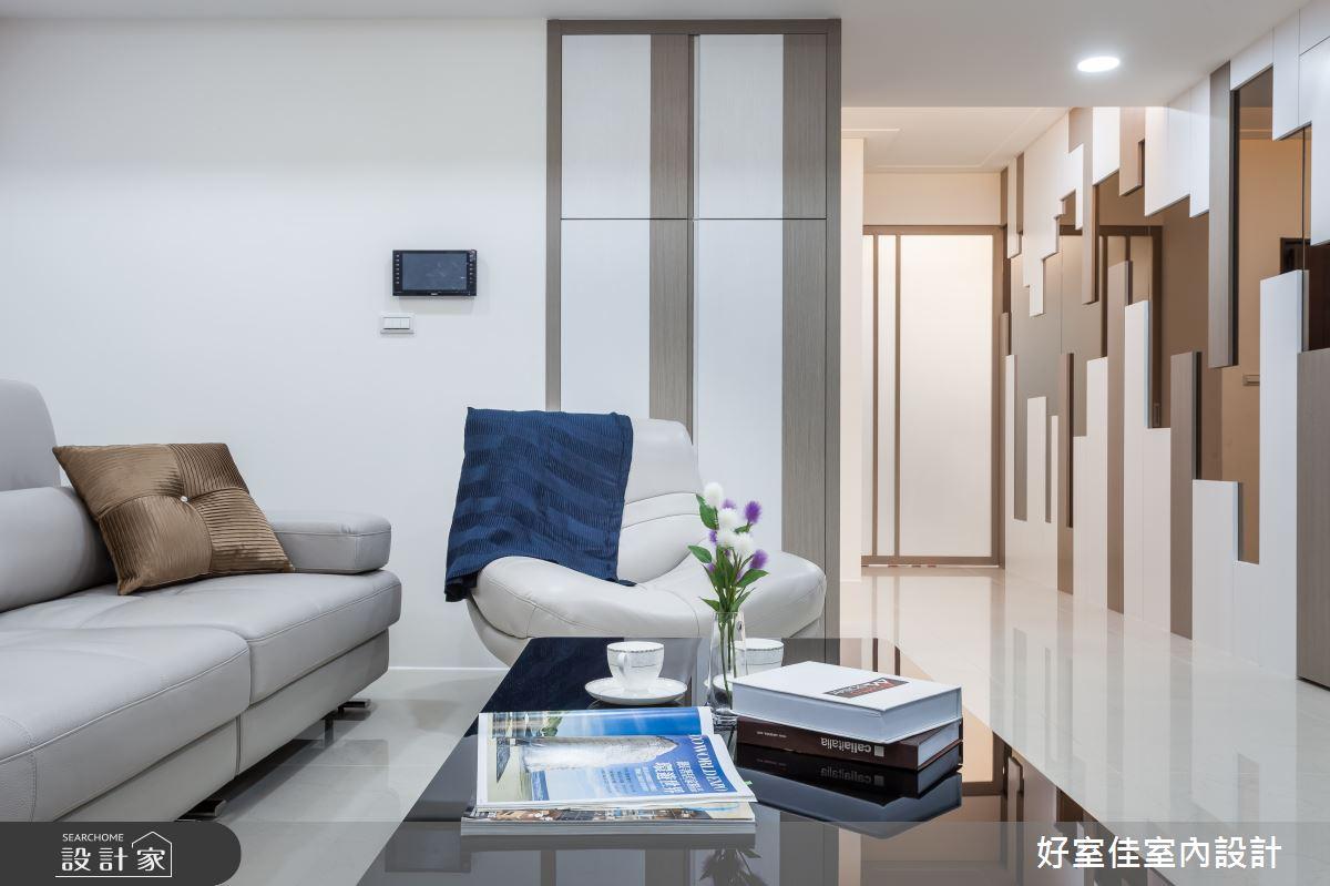45坪新成屋(5年以下)_現代風客廳案例圖片_好室佳室內設計_好室佳_久看不膩的品味居家之5