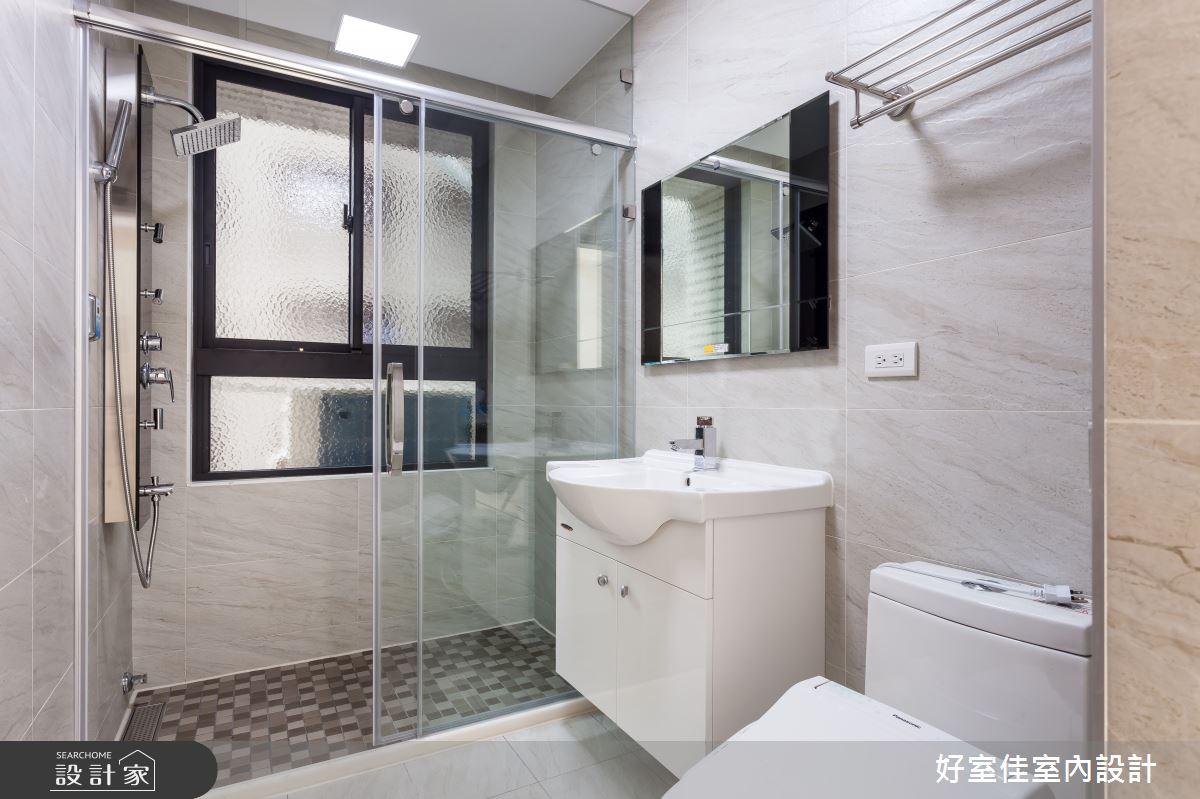 45坪新成屋(5年以下)_現代風浴室案例圖片_好室佳室內設計_好室佳_久看不膩的品味居家之18