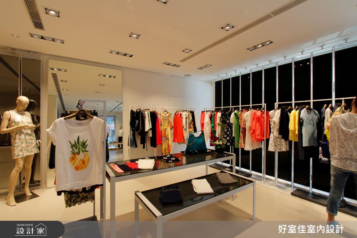 45坪中古屋(5~15年)_現代風商業空間案例圖片_好室佳室內設計_好室佳_高人氣服飾店形象之3