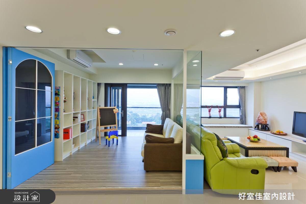 新成屋(5年以下)_其他客廳多功能室案例圖片_好室佳室內設計_好室佳_希臘風極簡住宅之2