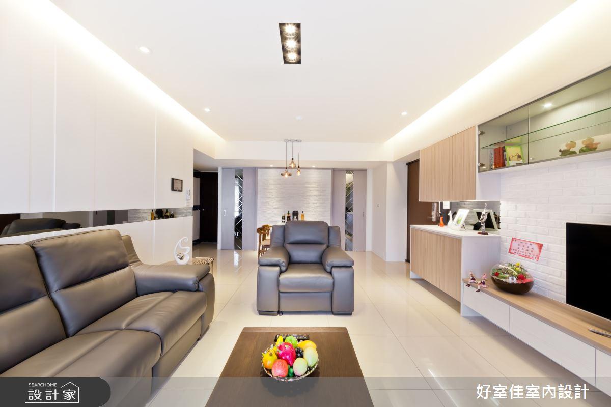 27坪新成屋(5年以下)_現代風客廳案例圖片_好室佳室內設計_好室佳_時尚度假宅(上)之2