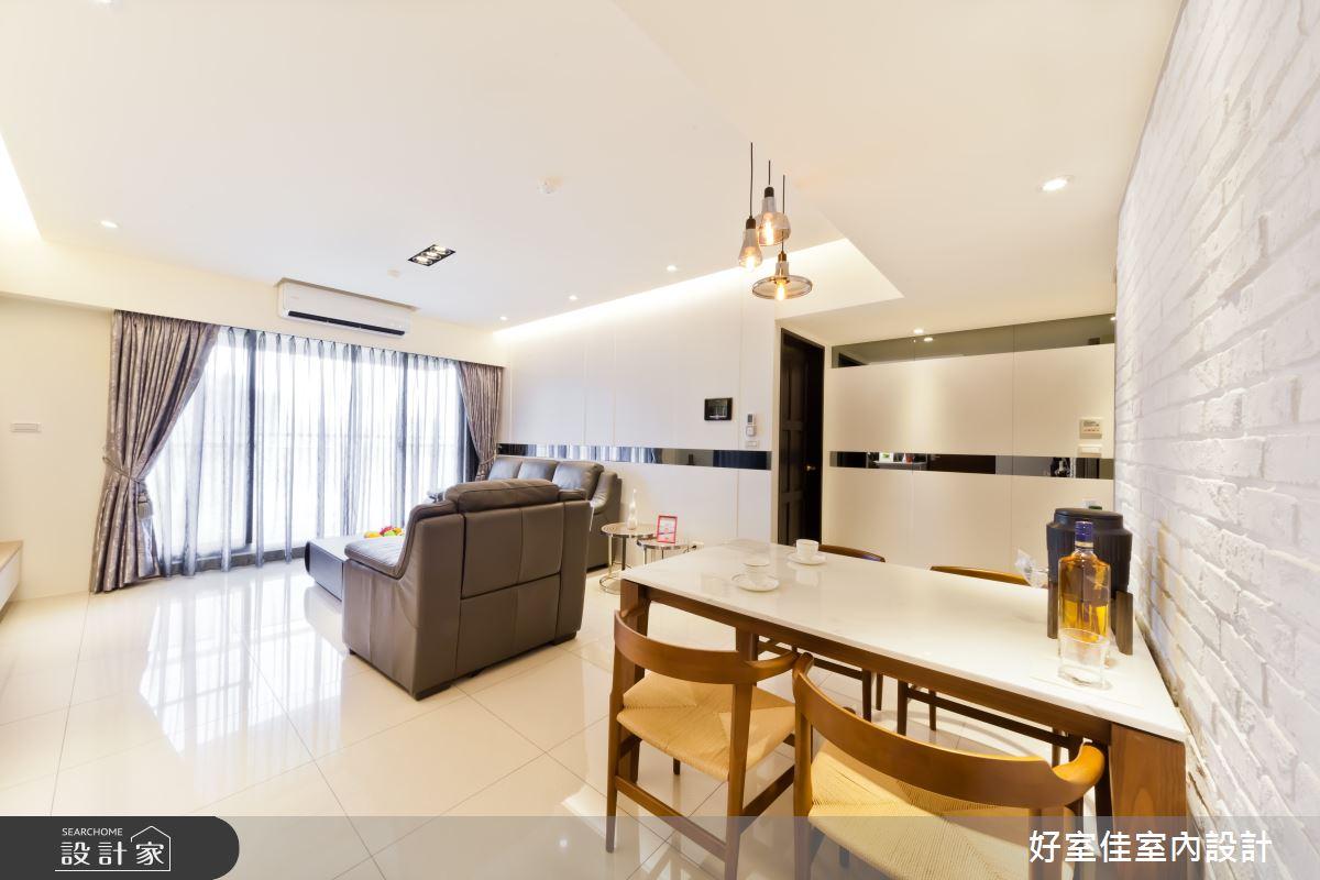 27坪新成屋(5年以下)_現代風客廳案例圖片_好室佳室內設計_好室佳_時尚度假宅(上)之6