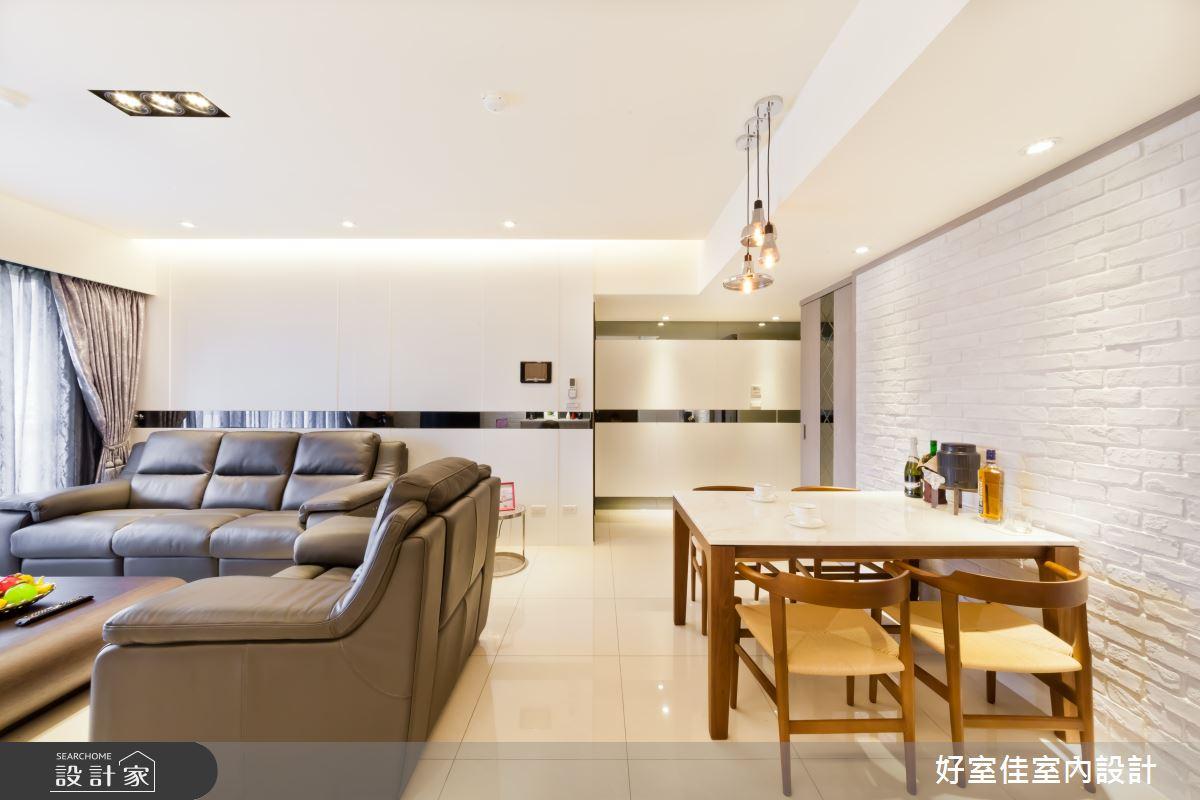 27坪新成屋(5年以下)_現代風客廳案例圖片_好室佳室內設計_好室佳_時尚度假宅(上)之7