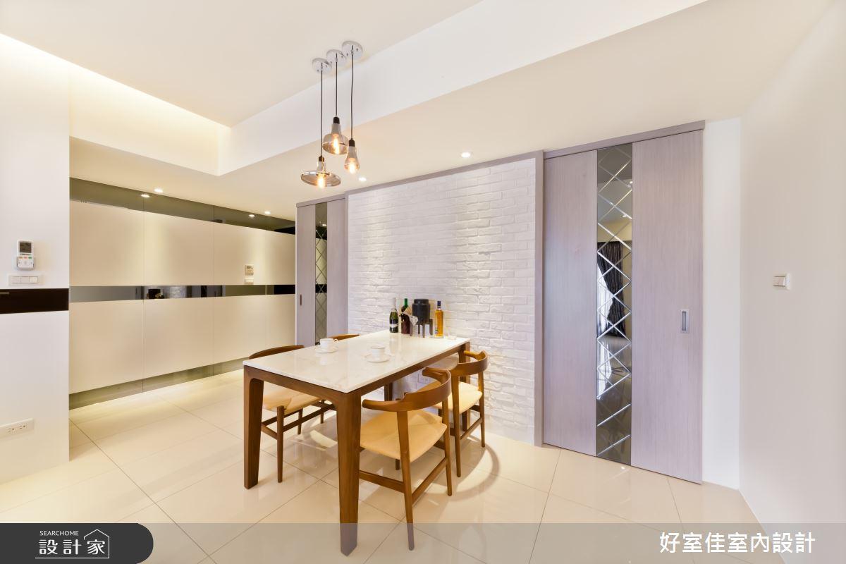 27坪新成屋(5年以下)_現代風餐廳案例圖片_好室佳室內設計_好室佳_時尚度假宅(上)之8