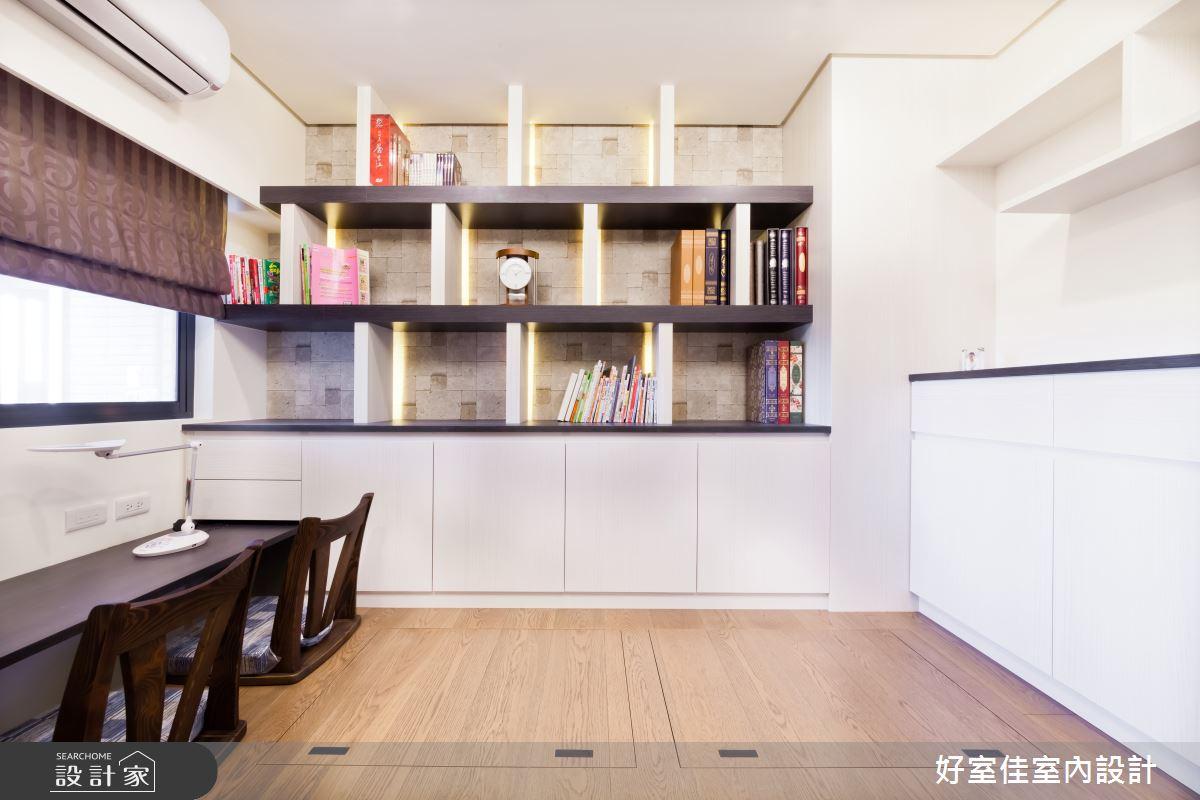 27坪新成屋(5年以下)_現代風和室多功能室案例圖片_好室佳室內設計_好室佳_時尚度假宅(上)之11