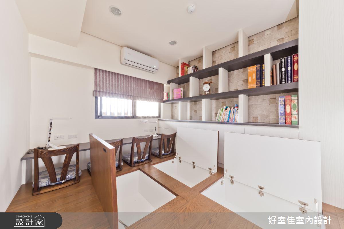 27坪新成屋(5年以下)_現代風和室多功能室案例圖片_好室佳室內設計_好室佳_時尚度假宅(上)之12