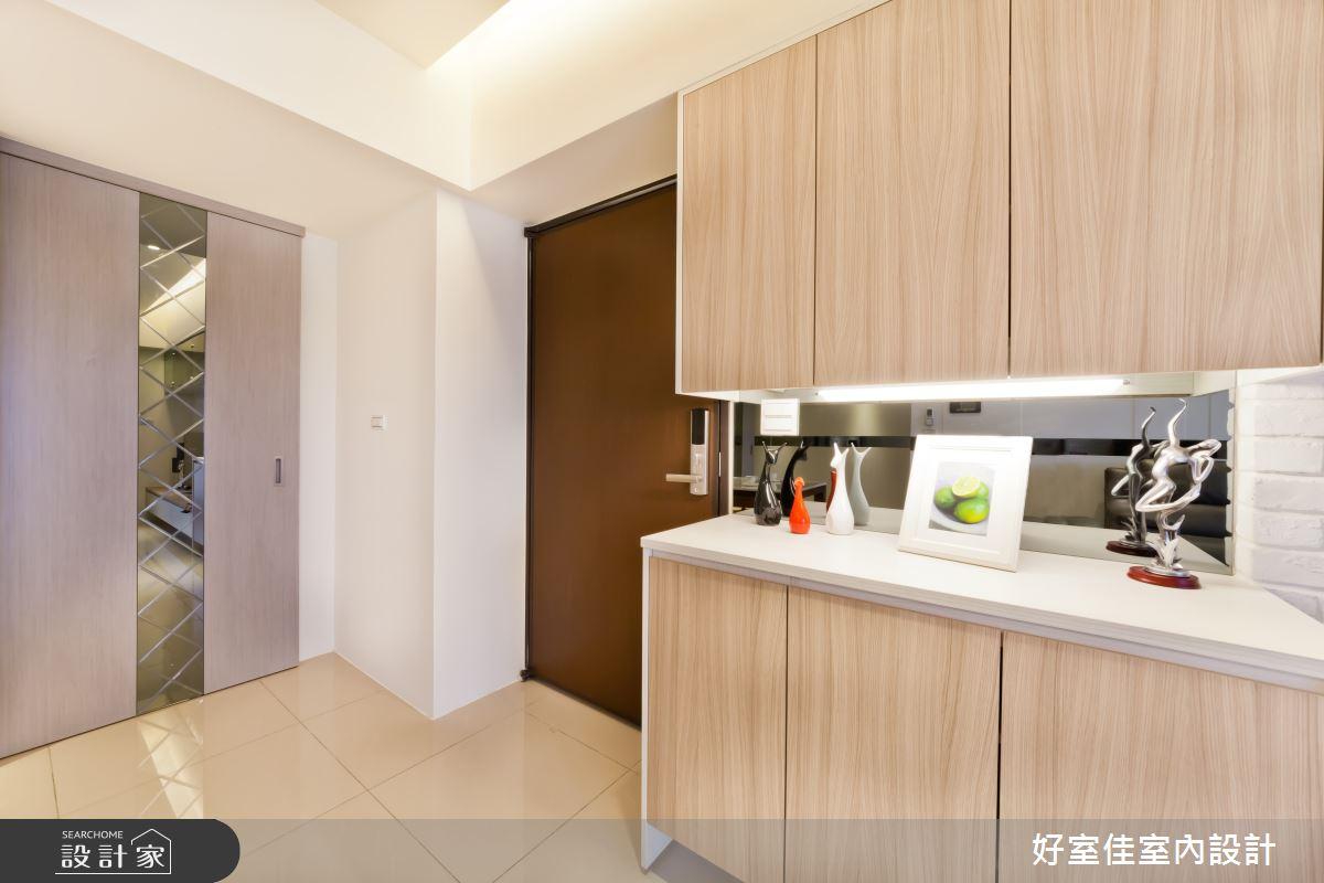 27坪新成屋(5年以下)_現代風玄關案例圖片_好室佳室內設計_好室佳_時尚度假宅(上)之10
