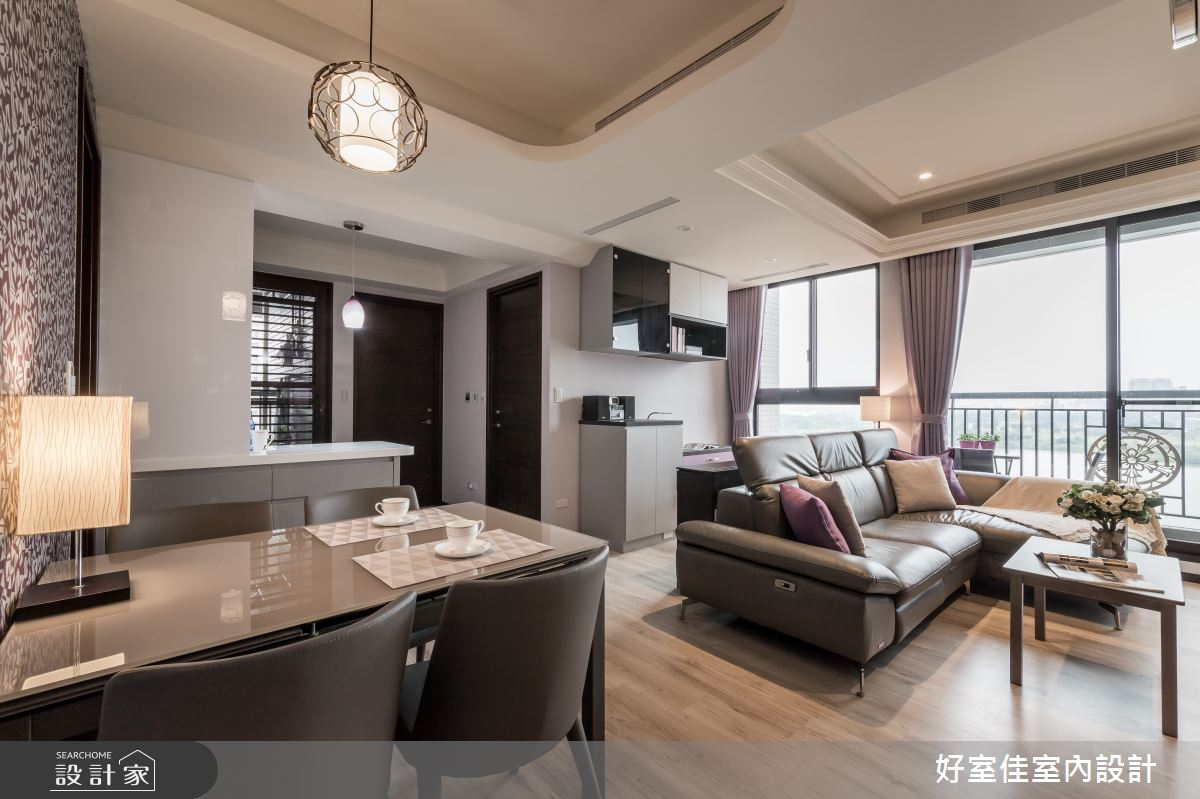 新成屋(5年以下)_現代風客廳餐廳案例圖片_好室佳室內設計_好室佳_戀戀紫色狂想曲之7