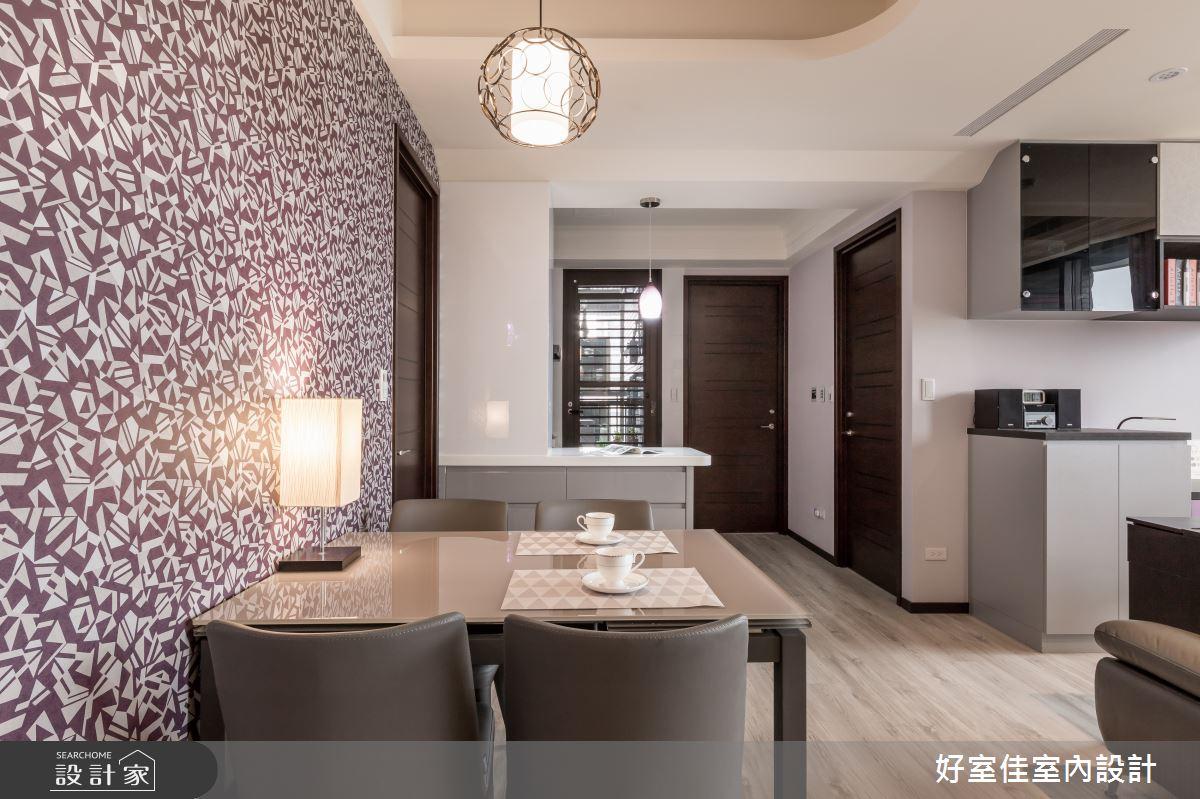 新成屋(5年以下)_現代風餐廳案例圖片_好室佳室內設計_好室佳_戀戀紫色狂想曲之10