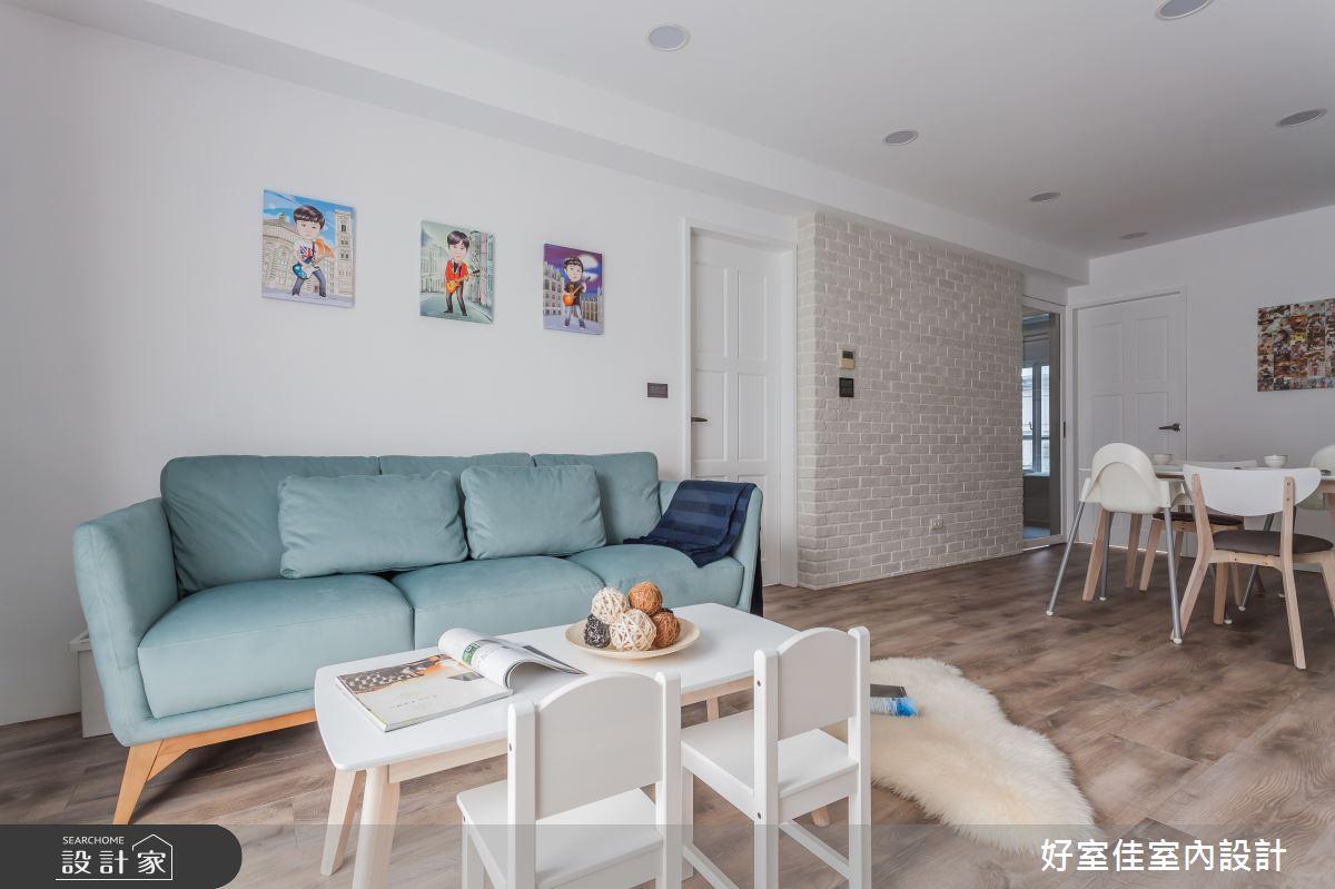 25坪中古屋(5~15年)_現代風客廳案例圖片_好室佳室內設計_好室佳_與寶貝一起享受生活之3