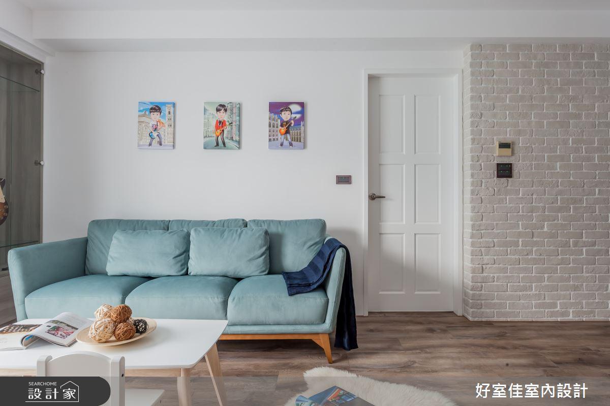 25坪中古屋(5~15年)_現代風客廳案例圖片_好室佳室內設計_好室佳_與寶貝一起享受生活之6