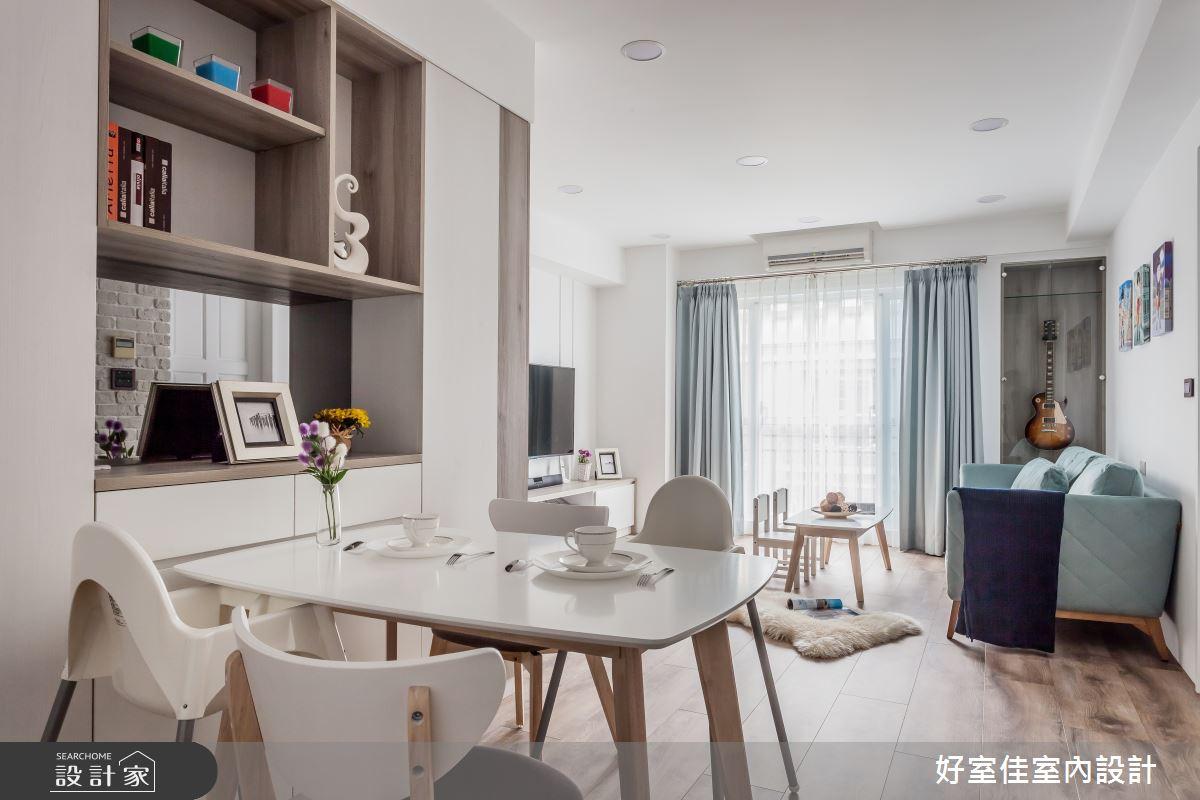 25坪中古屋(5~15年)_現代風餐廳案例圖片_好室佳室內設計_好室佳_與寶貝一起享受生活之10
