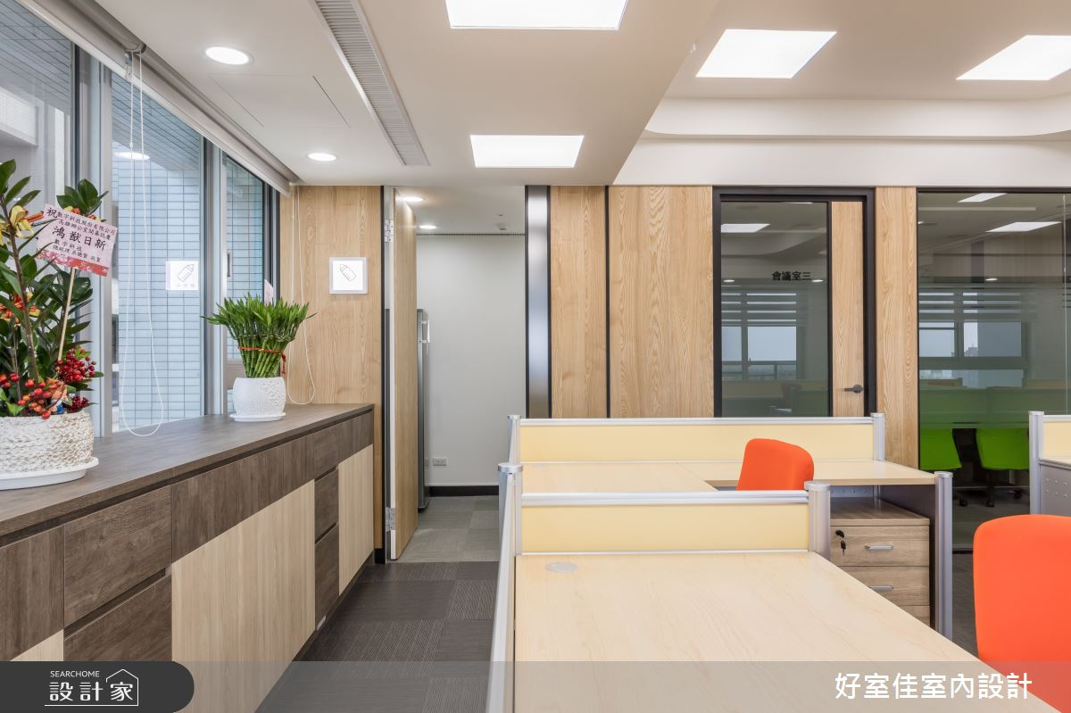 101坪新成屋(5年以下)_現代風商業空間案例圖片_好室佳室內設計_好室佳_展現企業活力精彩滿分之8