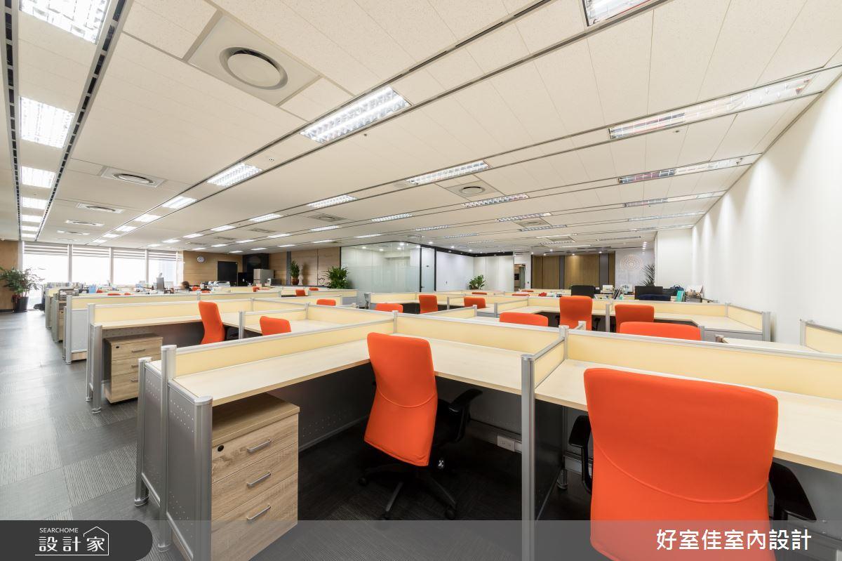 101坪新成屋(5年以下)_現代風商業空間案例圖片_好室佳室內設計_好室佳_活力感美學辦公室之4