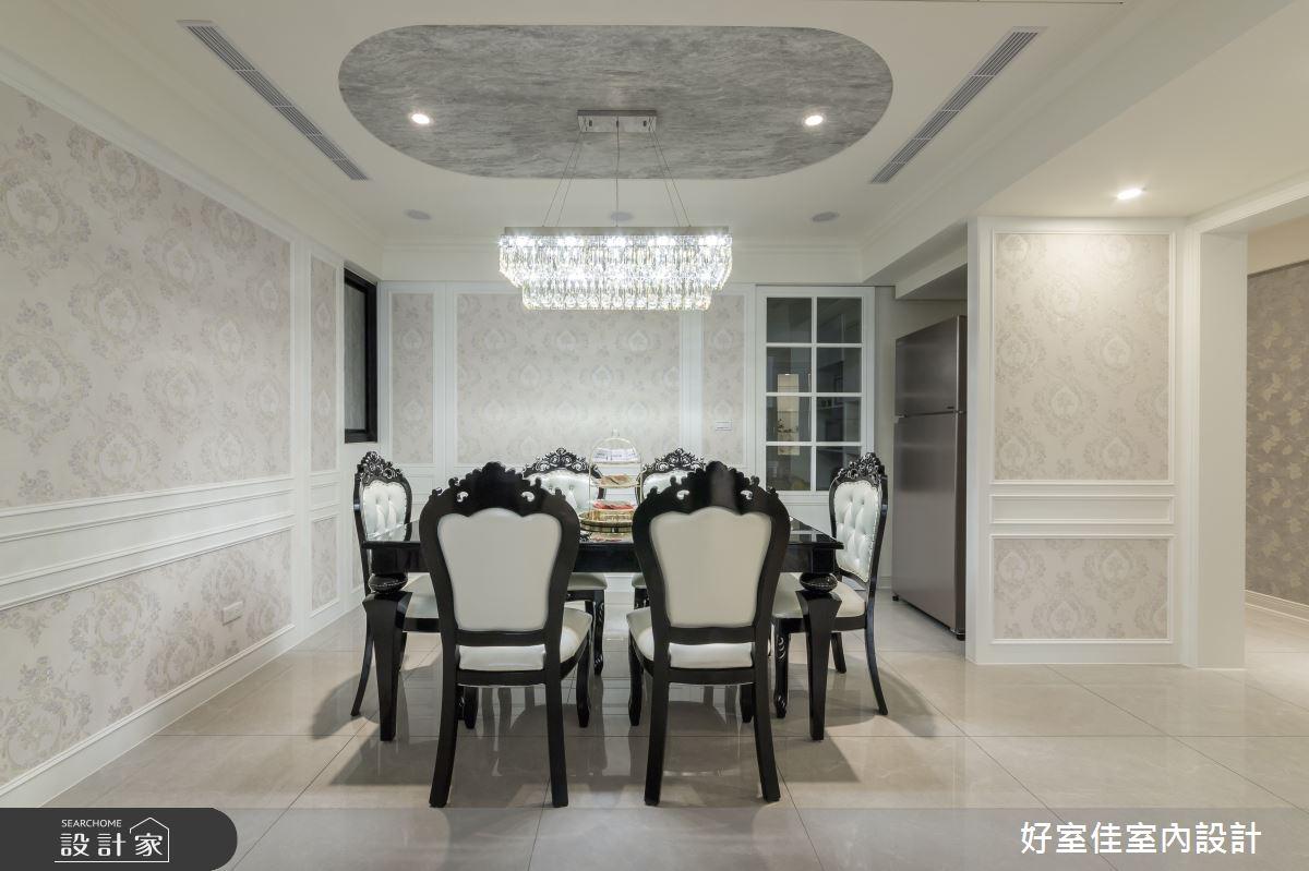 50坪新成屋(5年以下)_現代風餐廳案例圖片_好室佳室內設計_好室佳_甜入你心的優雅美學之4