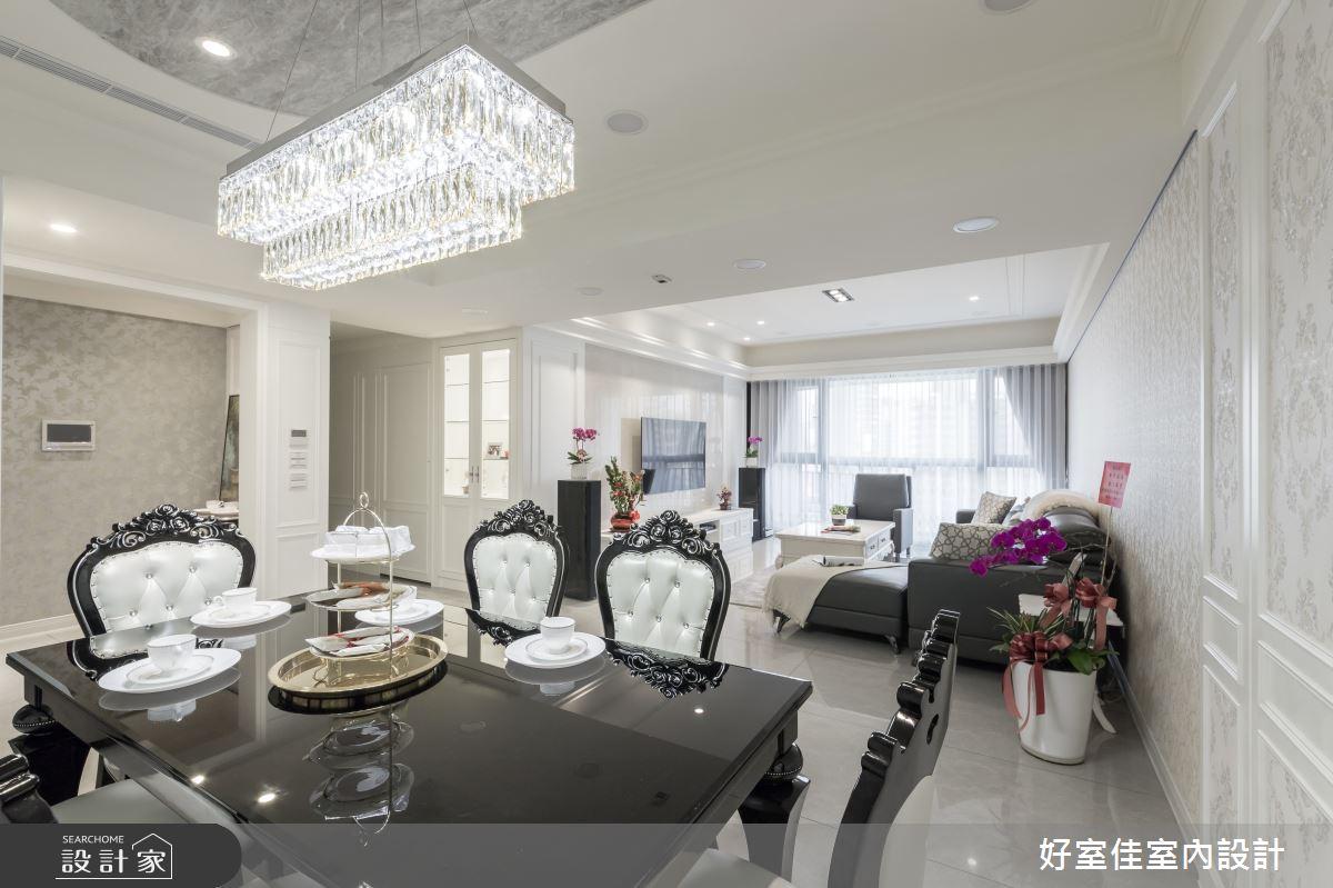 50坪新成屋(5年以下)_現代風餐廳案例圖片_好室佳室內設計_好室佳_甜入你心的優雅美學之5
