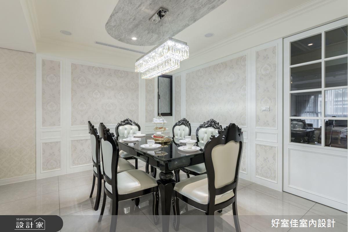 50坪新成屋(5年以下)_現代風餐廳案例圖片_好室佳室內設計_好室佳_甜入你心的優雅美學之6