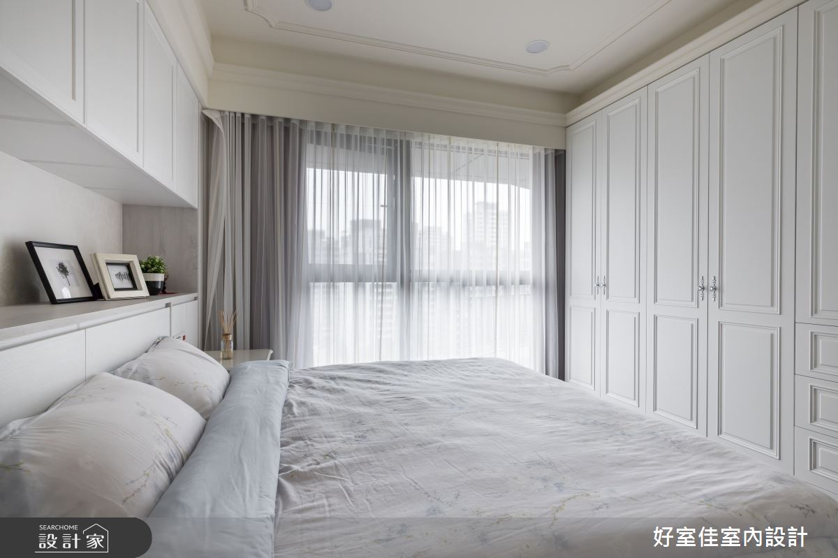 50坪新成屋(5年以下)_現代風臥室案例圖片_好室佳室內設計_好室佳_甜入你心的優雅美學之10