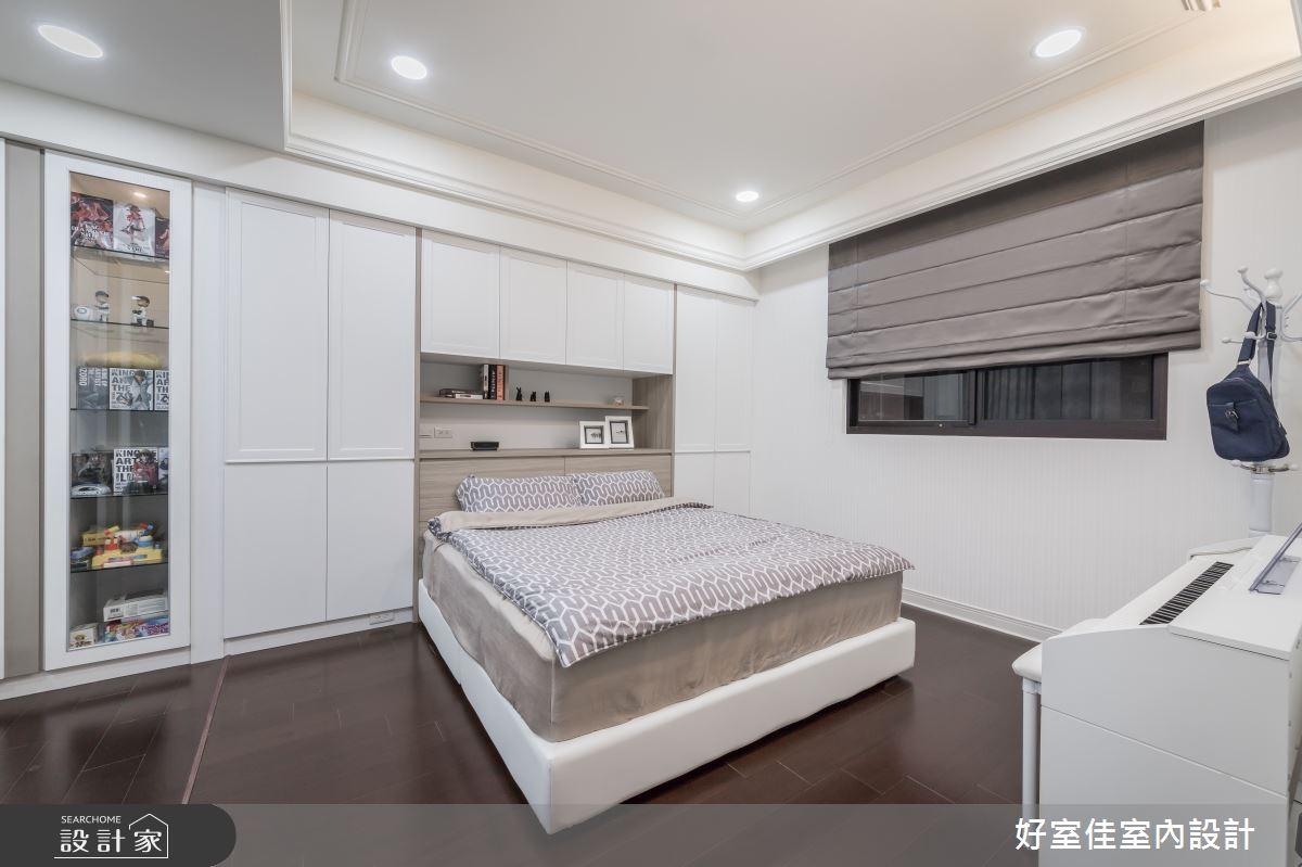 50坪新成屋(5年以下)_現代風臥室案例圖片_好室佳室內設計_好室佳_甜入你心的優雅美學之13