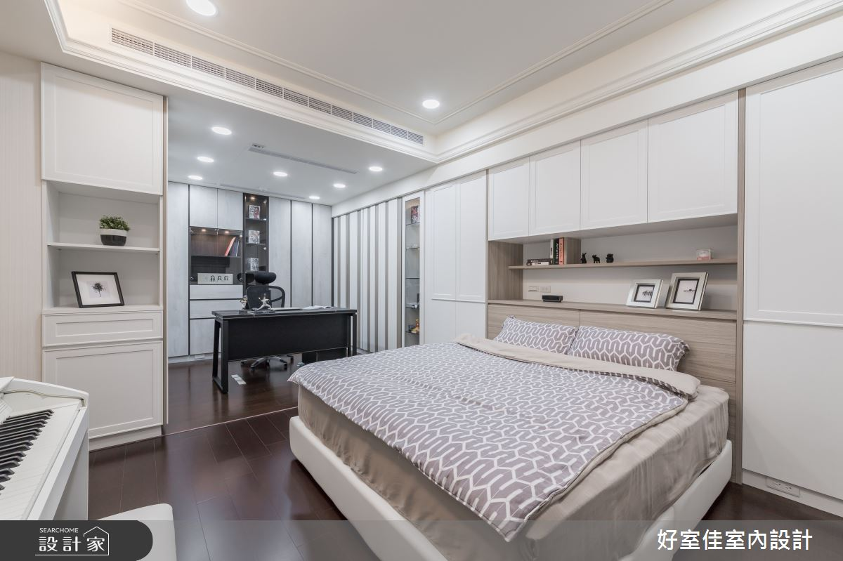 50坪新成屋(5年以下)_現代風臥室案例圖片_好室佳室內設計_好室佳_甜入你心的優雅美學之14