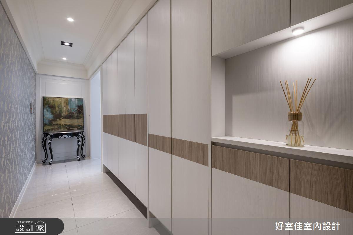 50坪新成屋(5年以下)_現代風走廊案例圖片_好室佳室內設計_好室佳_甜入你心的優雅美學之15