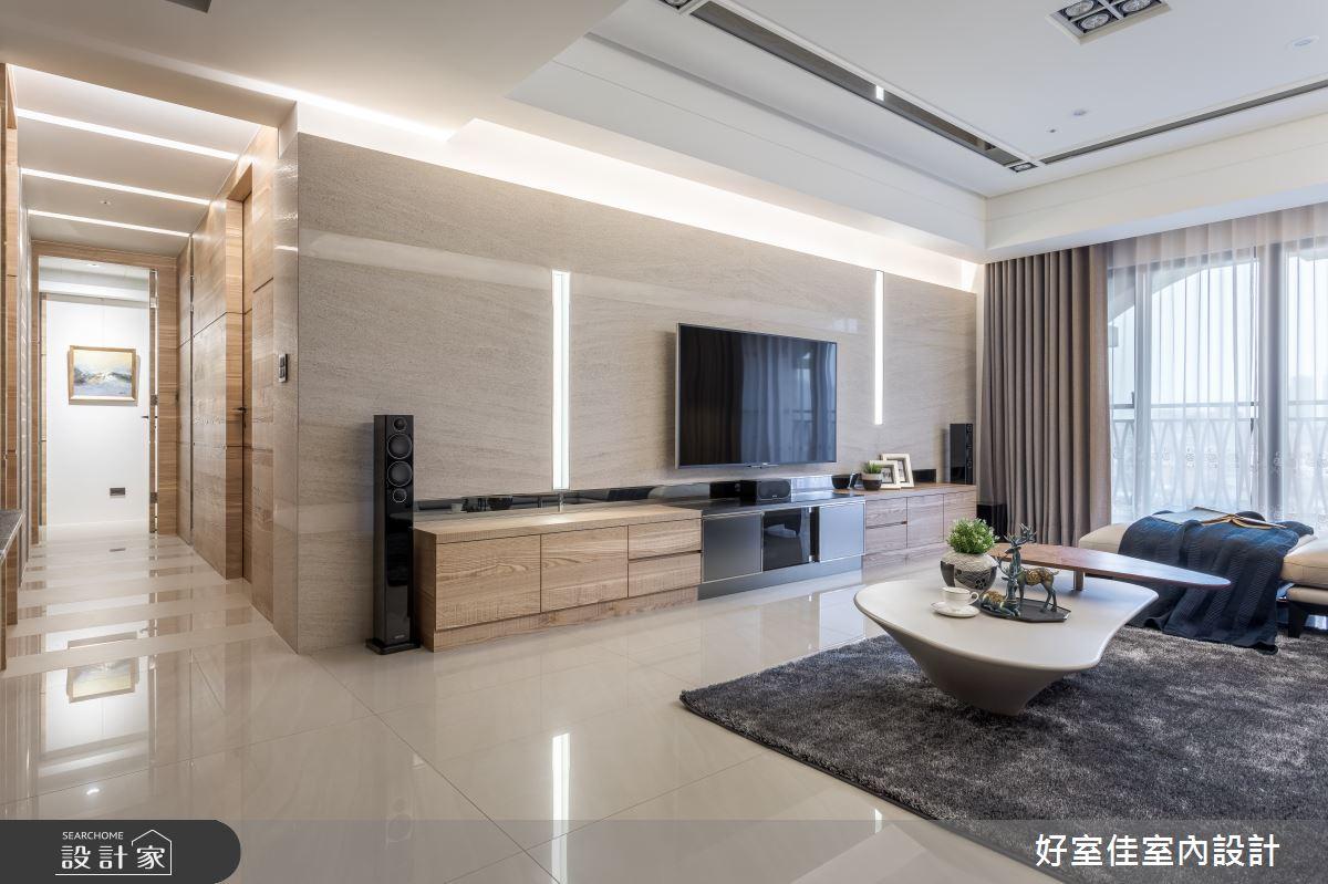 41坪新成屋(5年以下)_現代風客廳案例圖片_好室佳室內設計_好室佳_尊榮的優雅精髓之4