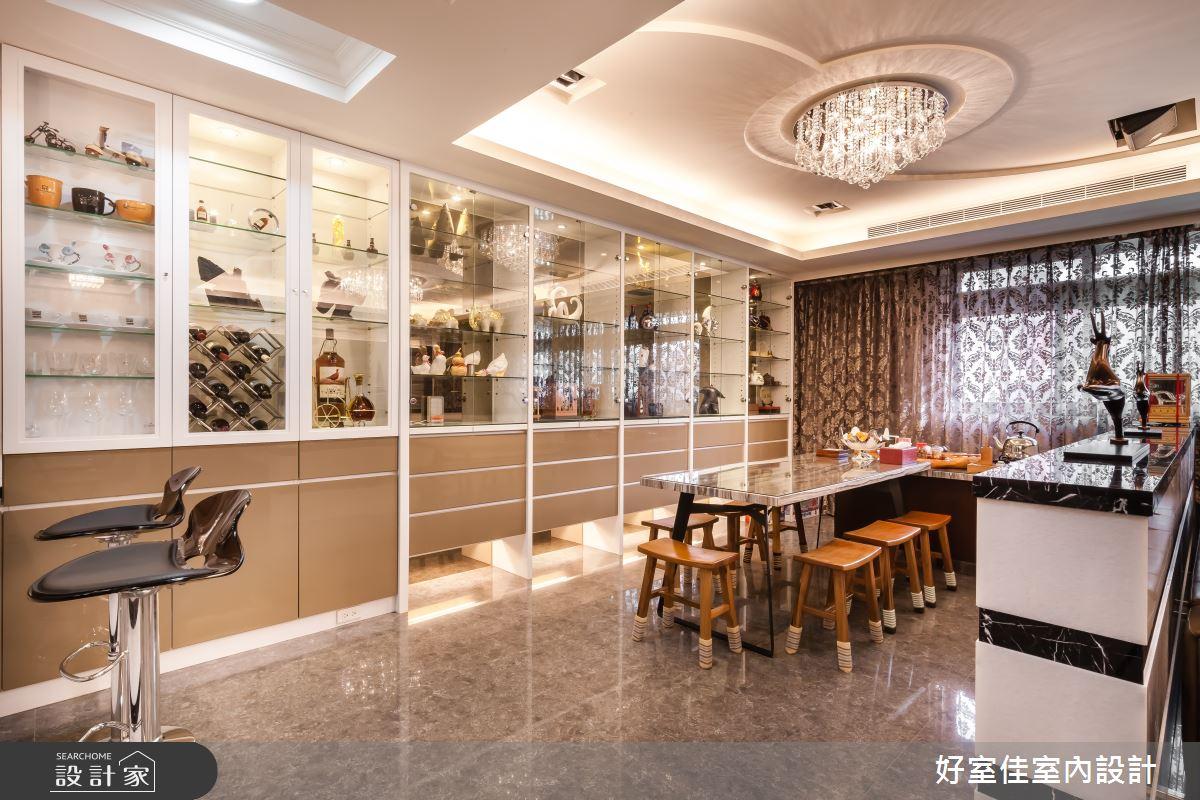 85坪新成屋(5年以下)_新古典餐廳案例圖片_好室佳室內設計_好室佳_金碧奢華感巧思美宅之7