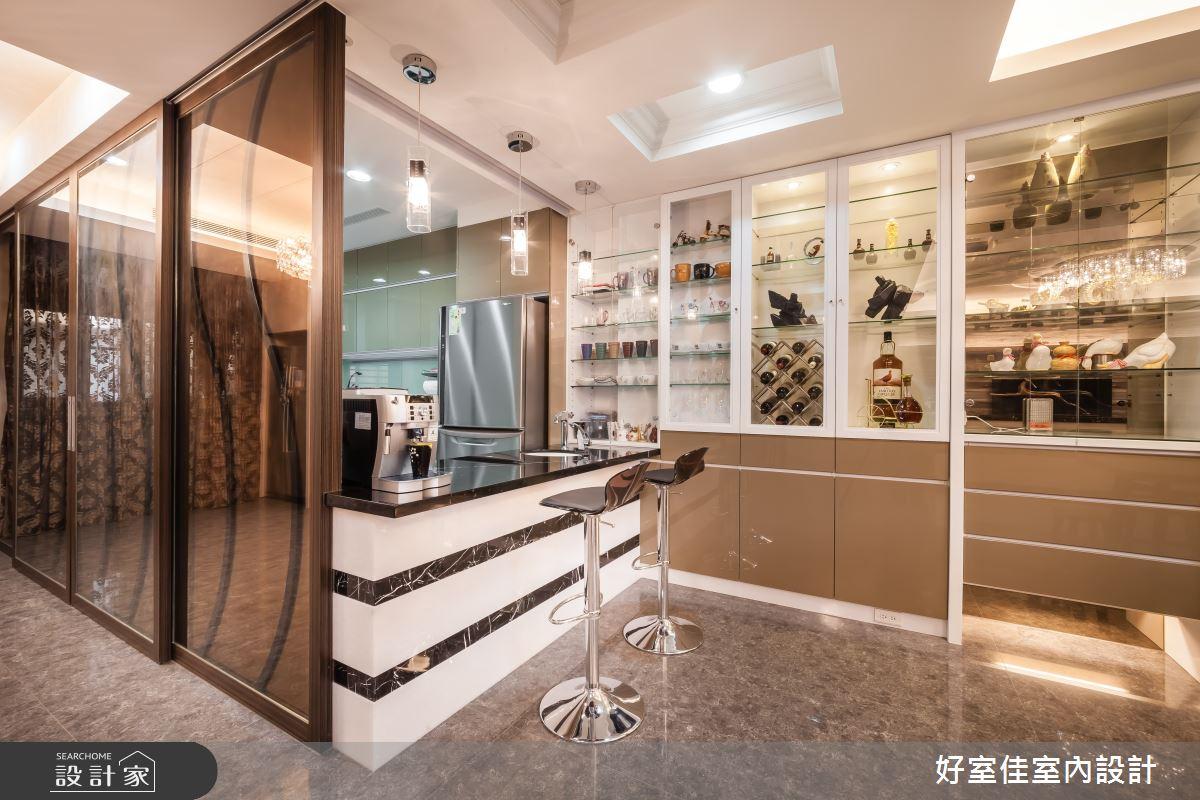 85坪新成屋(5年以下)_新古典吧檯案例圖片_好室佳室內設計_好室佳_金碧奢華感巧思美宅之10