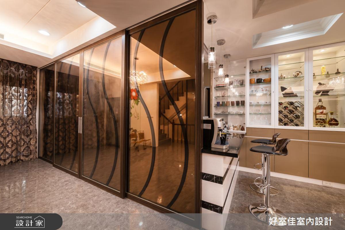 85坪新成屋(5年以下)_新古典吧檯案例圖片_好室佳室內設計_好室佳_金碧奢華感巧思美宅之11