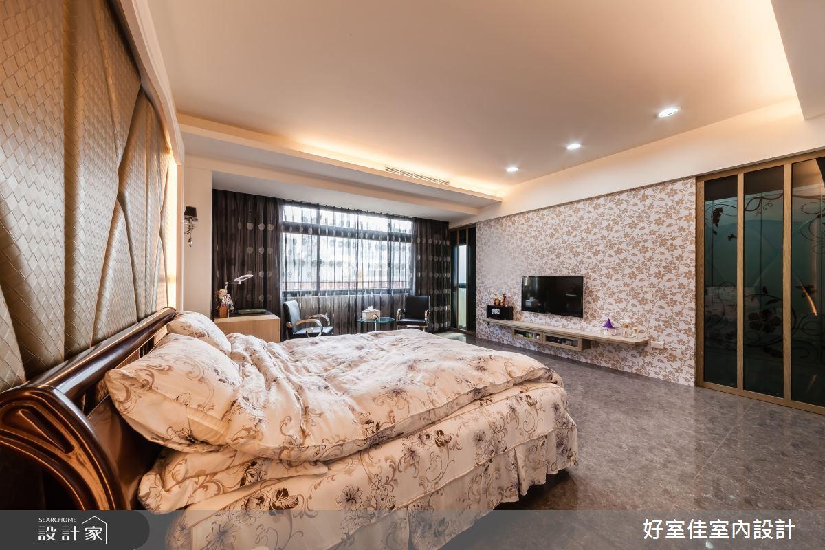 85坪新成屋(5年以下)_新古典臥室案例圖片_好室佳室內設計_好室佳_金碧奢華感巧思美宅之13