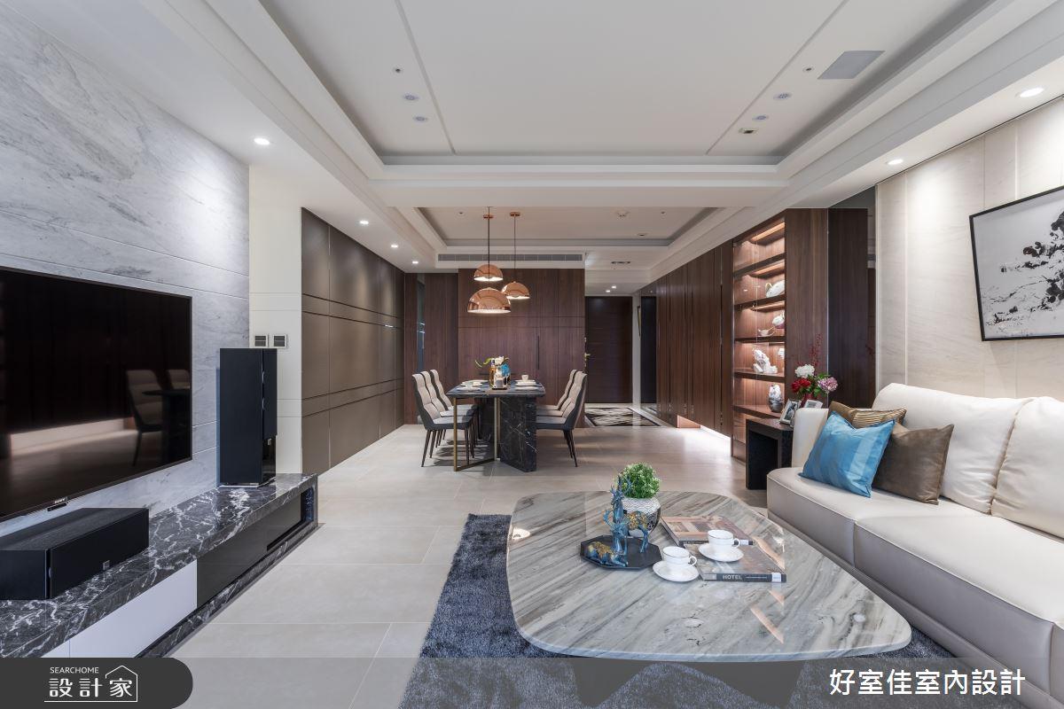 46坪新成屋(5年以下)_現代風案例圖片_好室佳室內設計_好室佳_譜出我的時尚協奏曲之4