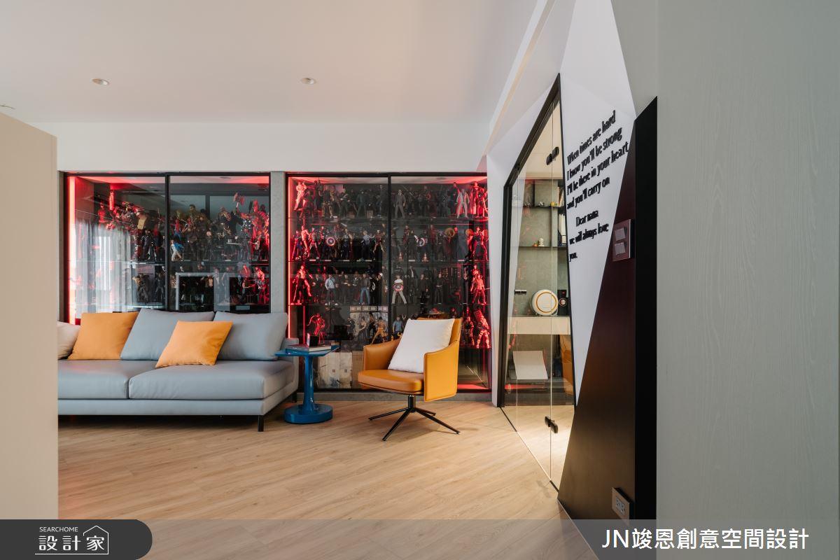 29坪老屋(16~30年)_現代風客廳案例圖片_JN竣恩創意空間設計_竣恩_16_林宅之4