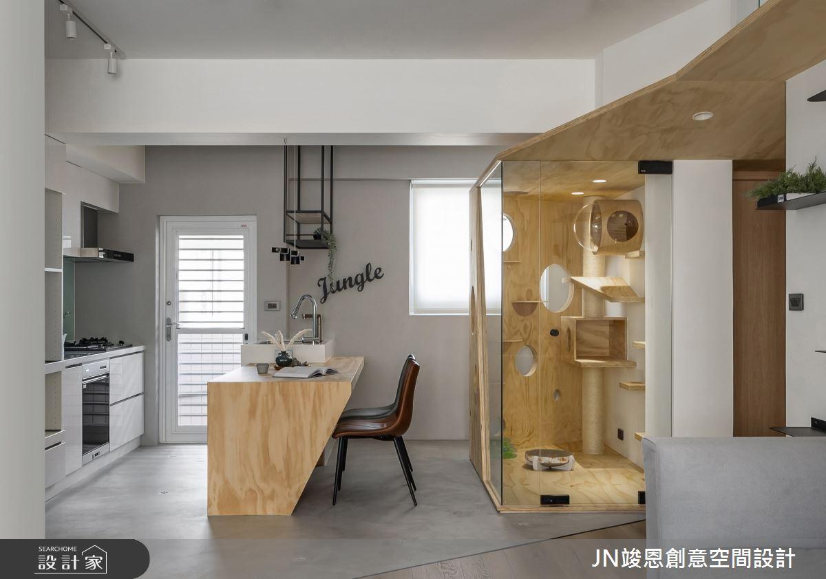 23坪老屋(31~40年)_北歐風案例圖片_JN竣恩創意空間設計_竣恩_23_Jungle之9