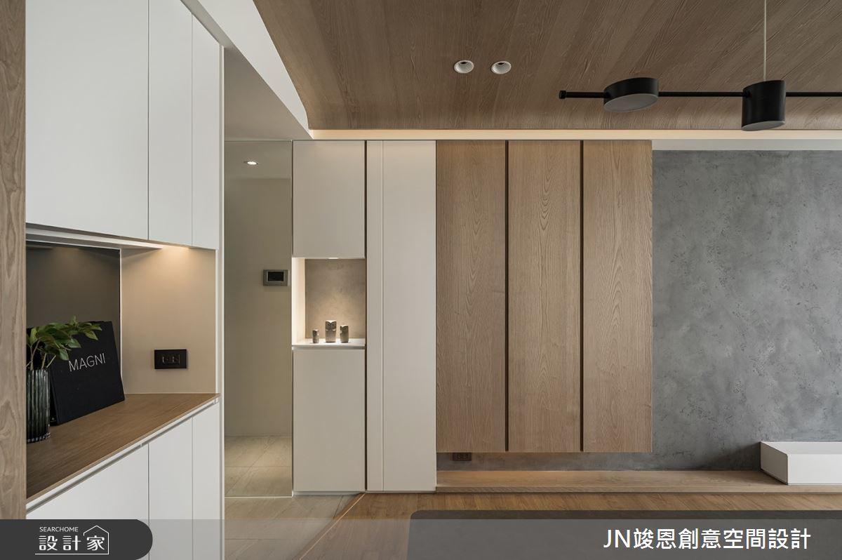 25坪新成屋(5年以下)_現代風客廳案例圖片_JN竣恩創意空間設計_竣恩_24_濃域之3