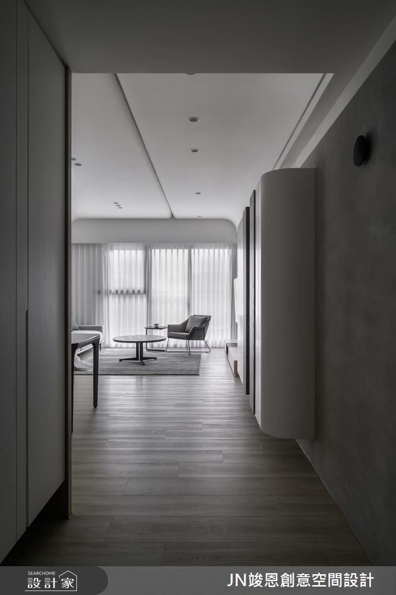 35坪新成屋(5年以下)_現代風案例圖片_JN竣恩創意空間設計_竣恩_27_流動之1