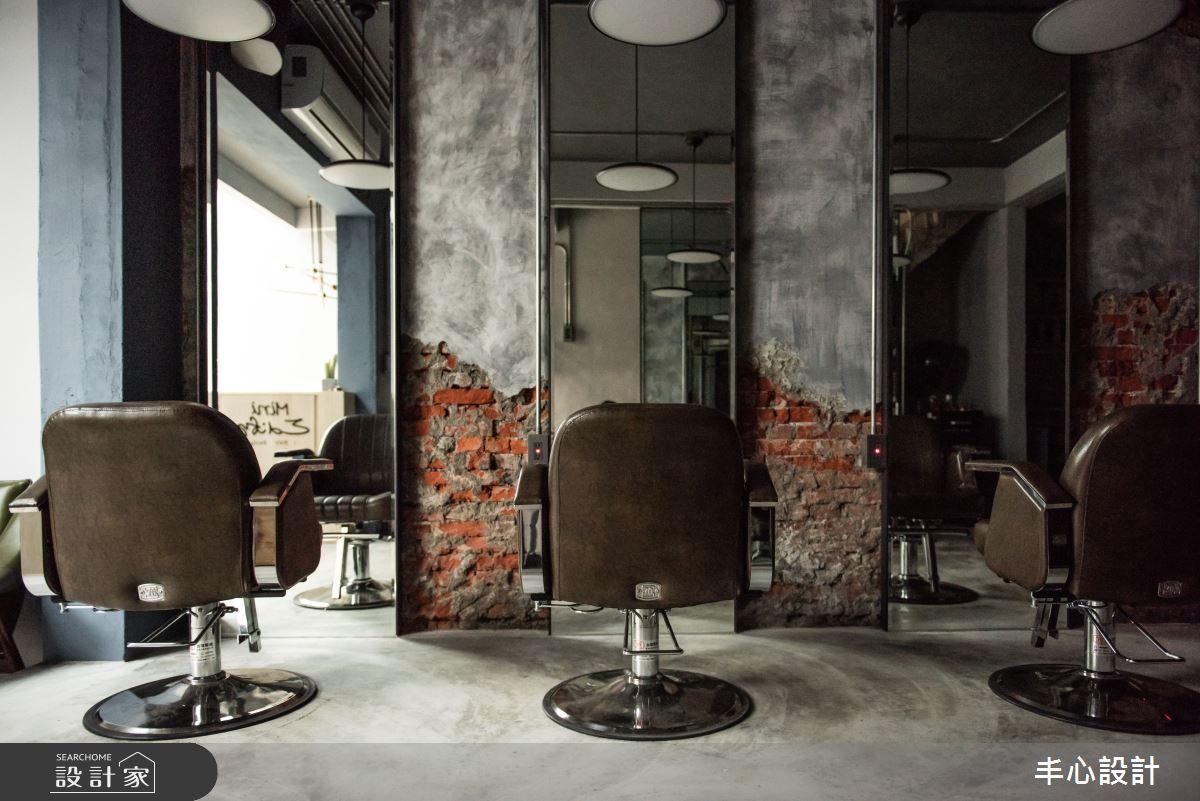 14坪老屋(41~50年)_工業風案例圖片_丰心設計_丰心_MINI EDIFY髮廊之4