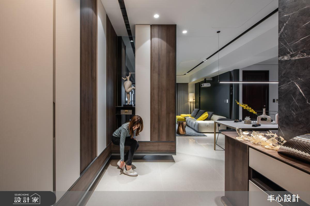 新成屋(5年以下)_混搭風案例圖片_丰心設計_丰心_世界之匯之3