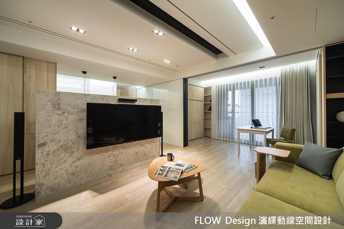 27坪新成屋(5年以下)_現代風客廳案例圖片_演繹動線設計公司_演繹動線_04之4