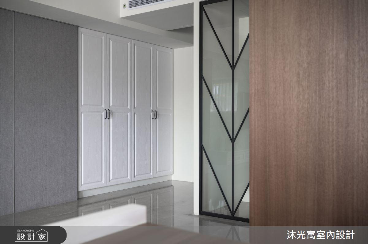45坪新成屋(5年以下)_新古典玄關案例圖片_沐光寓室內設計_沐光寓_02之1