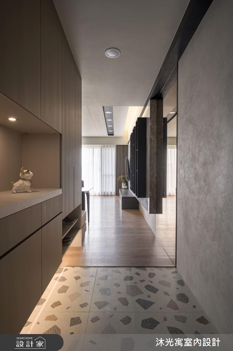 35坪新成屋(5年以下)_混搭風玄關案例圖片_沐光寓室內設計_沐光寓_05之3