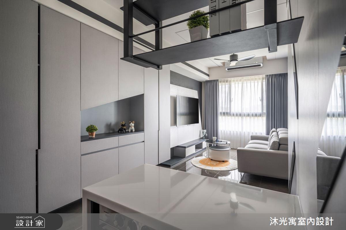 18坪新成屋(5年以下)_現代風案例圖片_沐光寓室內設計_沐光寓_06之4