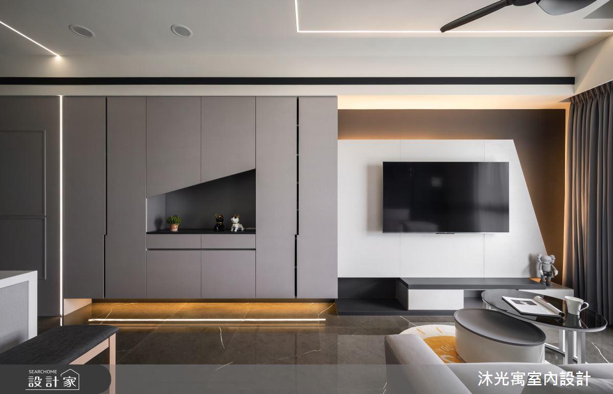 18坪新成屋(5年以下)_現代風案例圖片_沐光寓室內設計_沐光寓_06之10