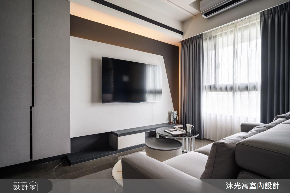 18坪新成屋(5年以下)_現代風案例圖片_沐光寓室內設計_沐光寓_06之11
