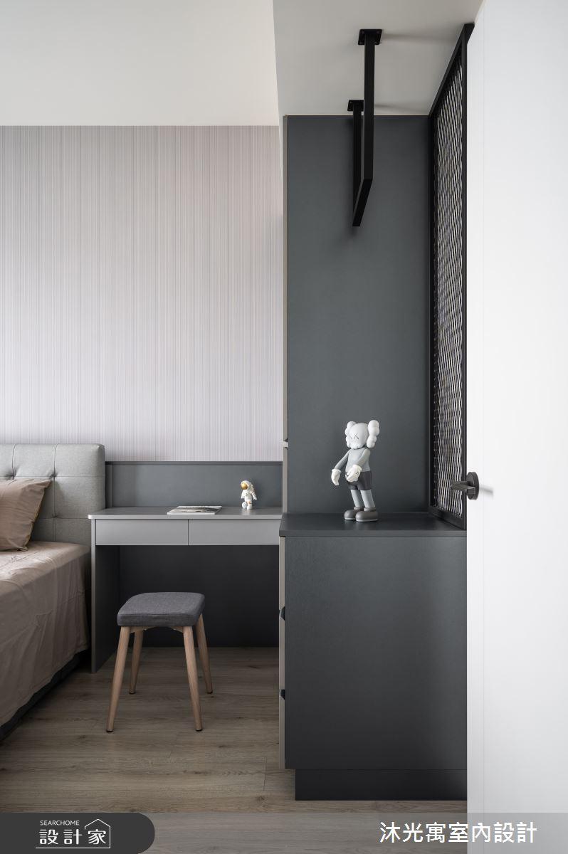 18坪新成屋(5年以下)_現代風臥室案例圖片_沐光寓室內設計_沐光寓_06之4712