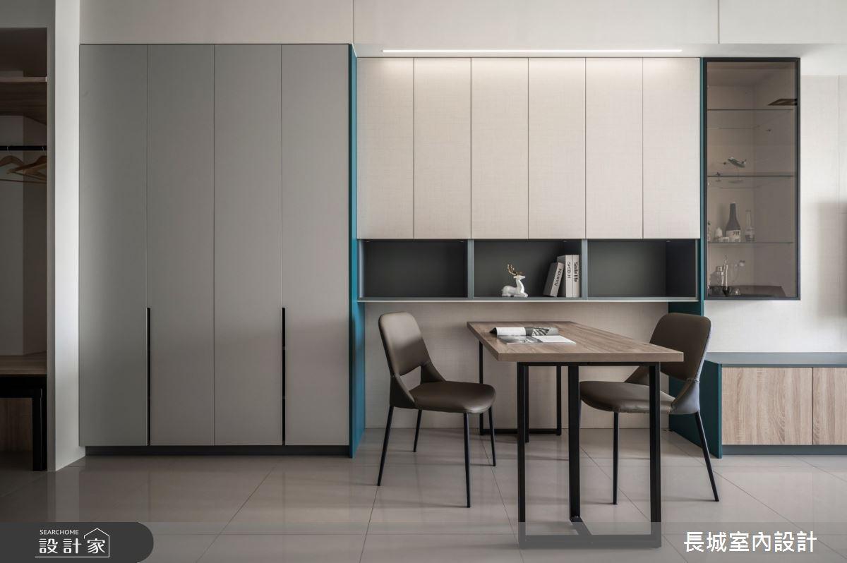 32坪新成屋(5年以下)_現代風餐廳案例圖片_長城室內設計_長城_06之3