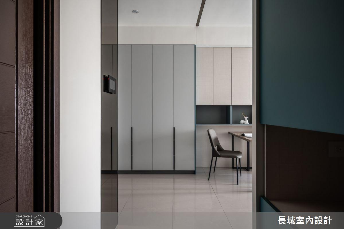 32坪新成屋(5年以下)_現代風餐廳案例圖片_長城室內設計_長城_06之9