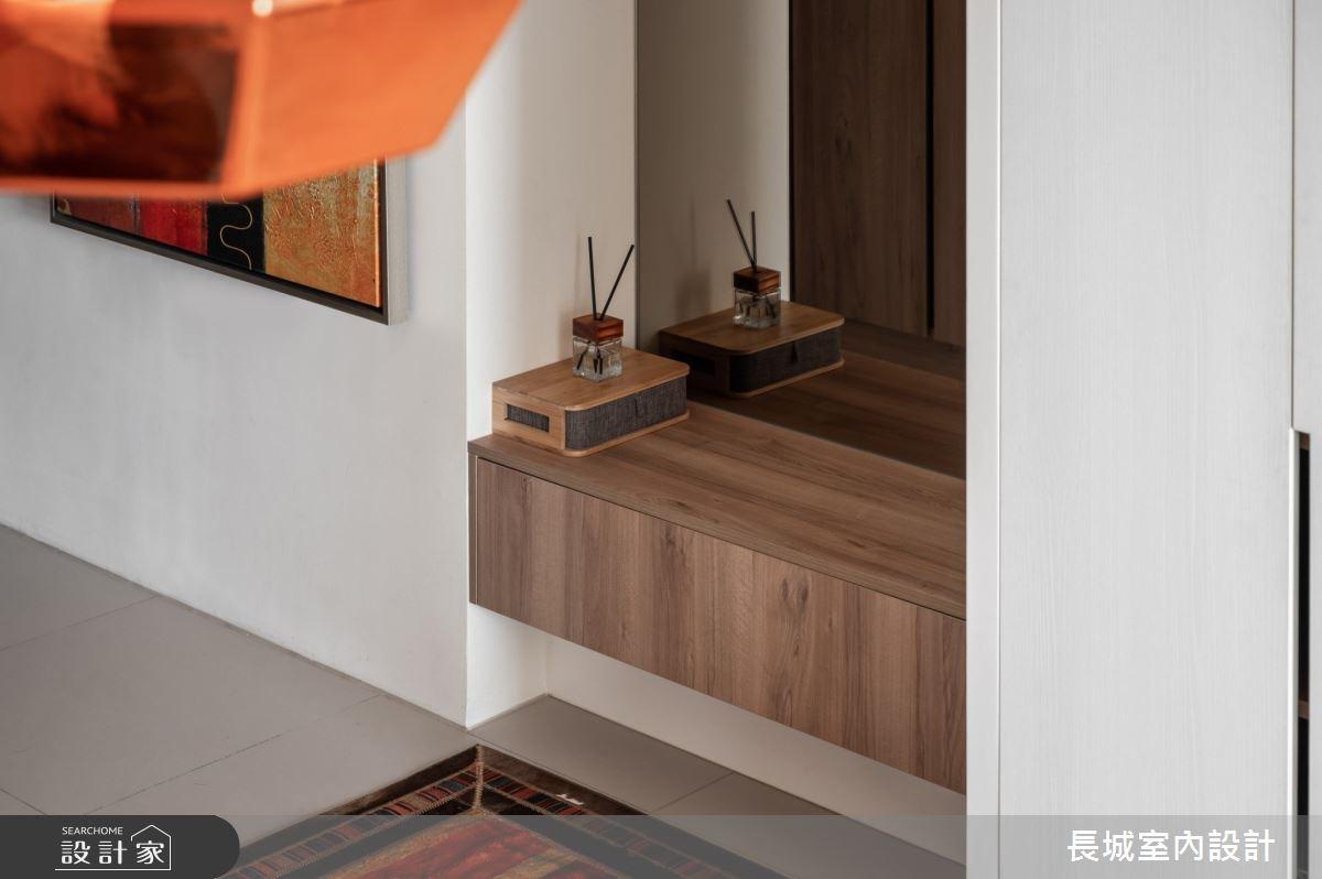 35坪新成屋(5年以下)_美式風玄關案例圖片_長城室內設計_長城_07之4
