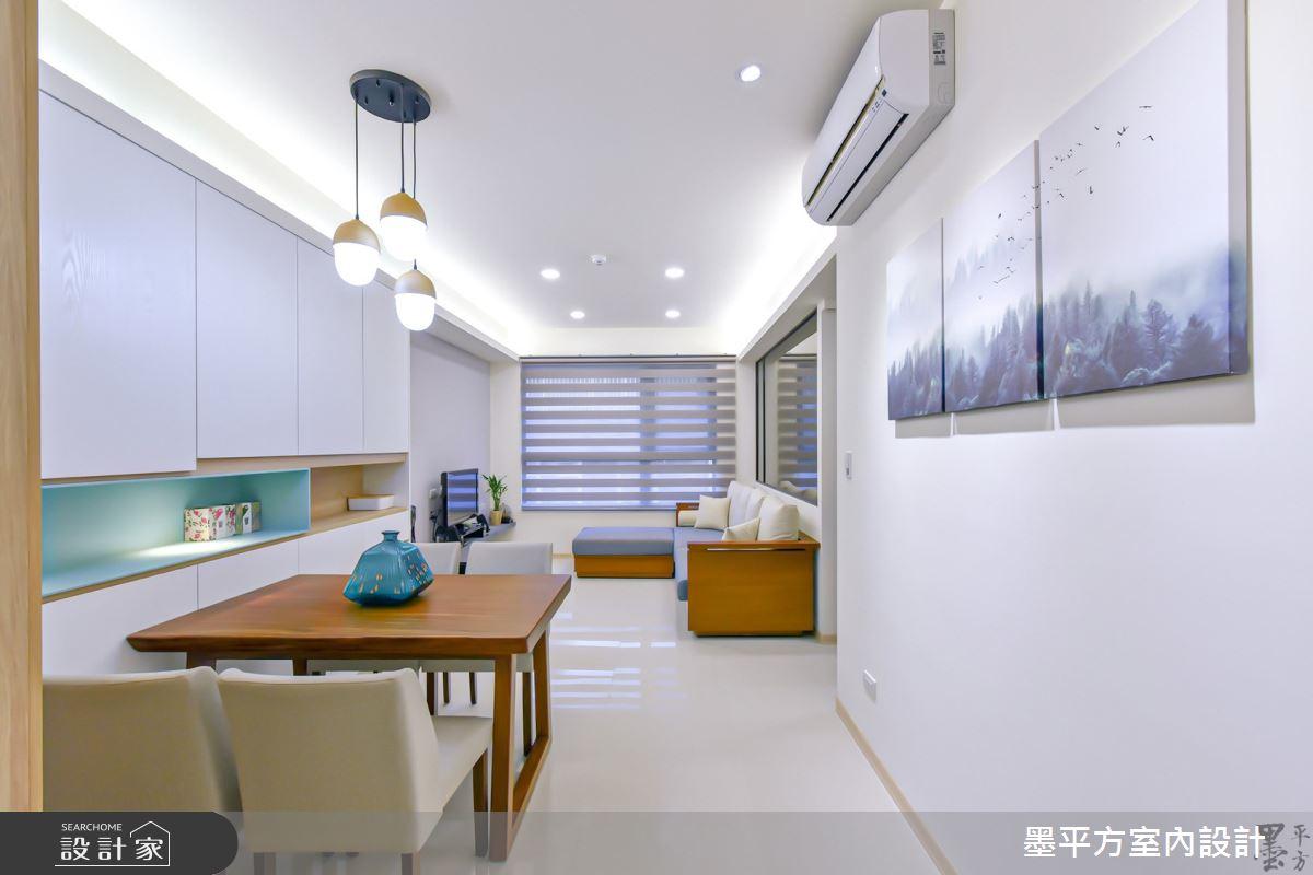 20坪新成屋(5年以下)_混搭風餐廳案例圖片_墨平方室內設計裝修有限公司_墨平方_09之4