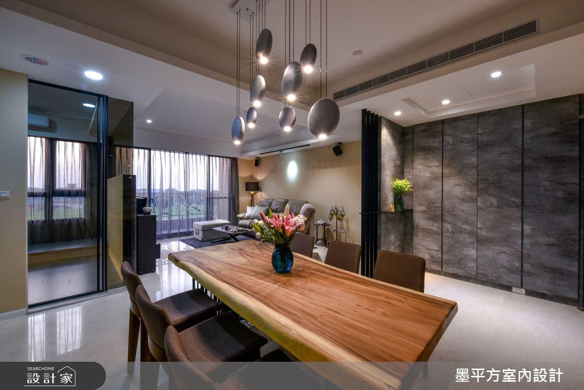 33坪新成屋(5年以下)_混搭風餐廳案例圖片_墨平方室內設計裝修有限公司_墨平方_12之4